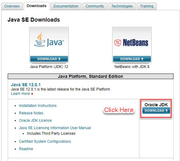 install Java jdk