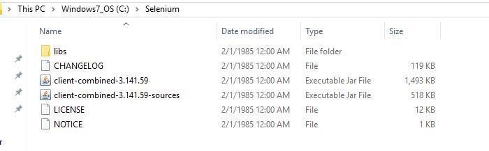 selenium webdriver install